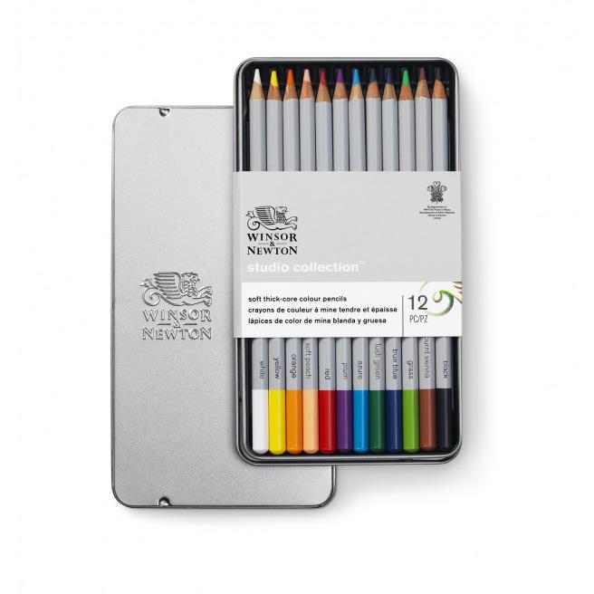 Crayons de couleur Winsor & Newton STUDIO COLLECTION