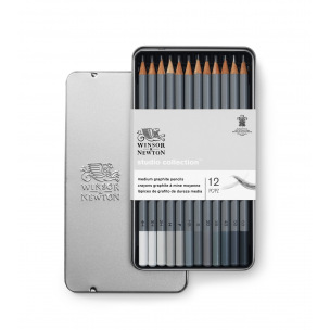 Crayons graphite Winsor & Newton STUDIO COLLECTION