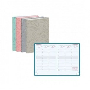 Agenda scolaire Exacompta SAS 13 - 9 x 13 cm - 1 semaine sur 2 pages