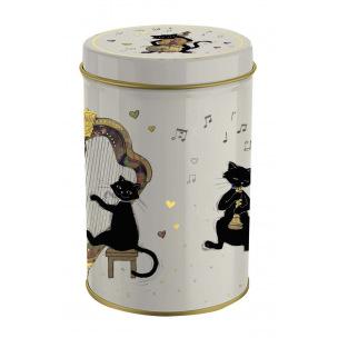 Boîte ronde en métal Bug Art