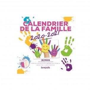 Calendrier de la FAMILLE Brepols - mensuel sur 16 mois - 29 x 29 cm