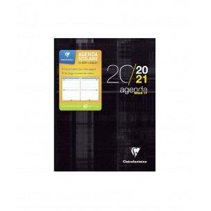 Agenda scolaire Clairefontaine WHEN 17 - 16 x 22 cm - 2 jours par page