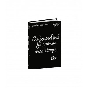 Agenda scolaire Quo Vadis TEXTAGENDA - 12 x 17 cm - 1 jour par page
