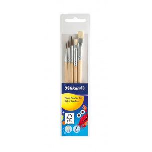 Set de 5 pinceaux Pelikan pour l'école