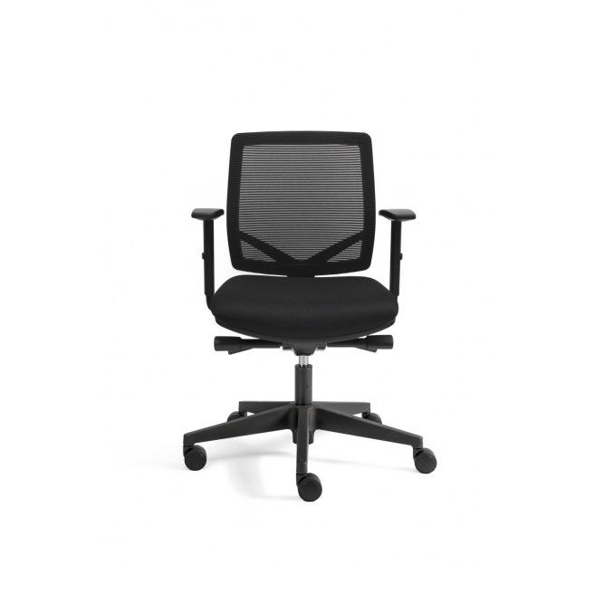 Chaise de bureau ergonomique A300 - résille noire