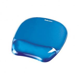 Tapis de souris repose-poignet ergonomique Fellowes CRYSTAL GEL