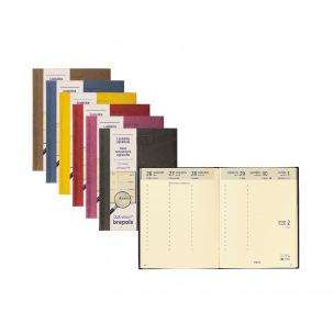 Agenda Brepols OPTIVISION LARGE FR - 17 x 22 cm - 1 semaine sur 2 pages