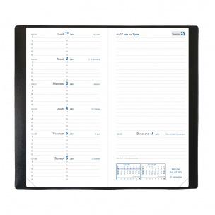 Agenda Quo Vadis ITALNOTE B - 8,8 x 17 cm - 1 semaine par page + notes