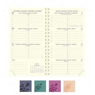 Agenda Exacompta EUROTIME 16S - 9 x 16 cm - 1 semaine sur 2 pages