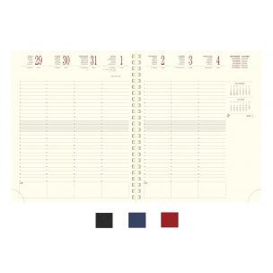 Agenda Exacompta EUROTIME 27S - 21 x 27 cm - 1 semaine sur 2 pages
