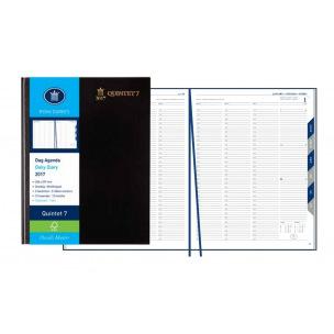Agenda Ryam QUINTET 7- 23 x 29,7 cm - 1 jour sur 2 pages