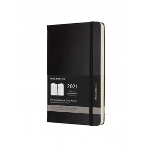 Agenda Moleskine PRO COLLECTION - 1 semaine sur 2 pages