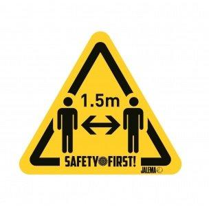 Sticker d'avertissement GARDEZ VOS DISTANCES