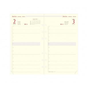 Recharge organiser Oberthur - 1 jour par page - FORMAT 17 - 10 x 17 cm