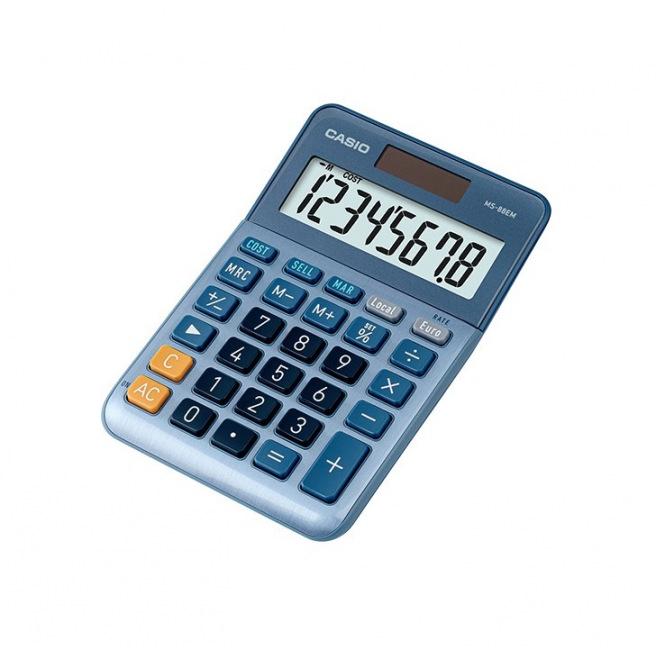 Calculatrice de bureau Casio MS-88EM