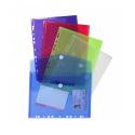 Pochette enveloppe perforée Exacompta - fermeture velcro - A4
