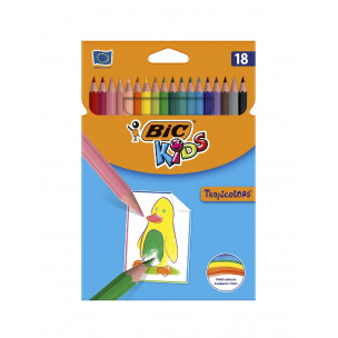 Crayons de couleur BIC KIDS TROPICOLORS 2