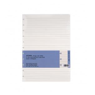 Recharge pour cahier ATOMA - papier crème