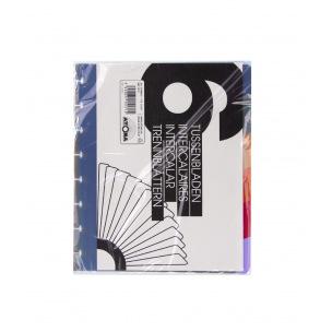 Intercalaires pour cahiers à pochettes et farde de présentation ATOMA A5