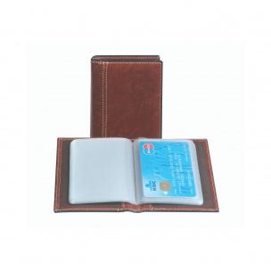 Porte-cartes Brepols en simili cuir - 40 cartes