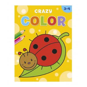 Livre à colorier Crazy Color