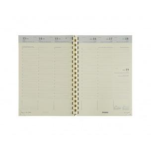 Agenda scolaire Brepols BRETIME 16 MOIS - 14,8 x 21 cm - 1 semaine sur 2 pages