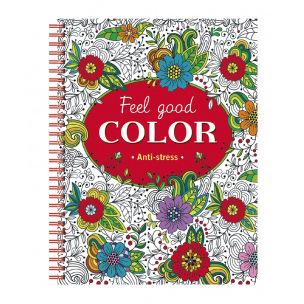 Livre à colorier Feel Good Color anti-stress