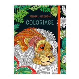 Livre à colorier Animal Kingdom Coloriage