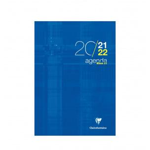 Agenda scolaire Clairefontaine WHEN 21 - 21 x 29,7 cm - 1 semaine sur 2 pages