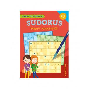 Bloc de jeux sudokus amusants pour enfants