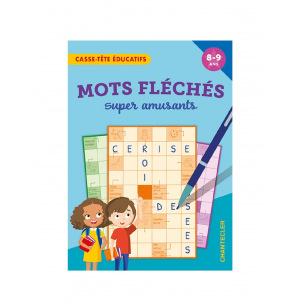 Bloc de jeux de mots fléchés amusants pour enfants