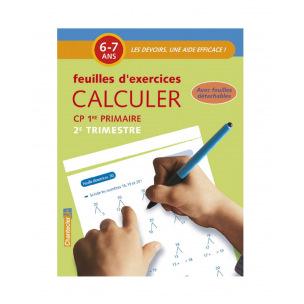 Bloc de feuilles d'exercices pour 6 - 7 ans (1er primaire)