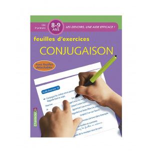 Bloc de feuilles d'exercices pour les 8 - 9 ans (3e primaire)