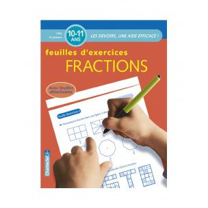 Bloc de feuilles d'exercices pour les 10 - 11 ans (5e primaire)