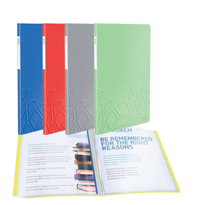Farde de présentation à pochettes Leitz URBAN CHIC A4 - 40 pochettes (80 vues)