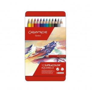 Crayon de couleur Caran d'ache SUPRACOLOR SOFT AQUARELLE