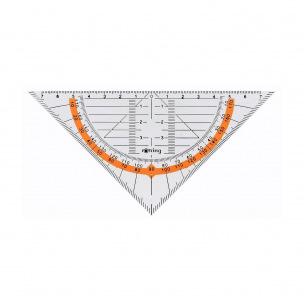 Equerre géométrique ROTRING CENTRO- 16 cm