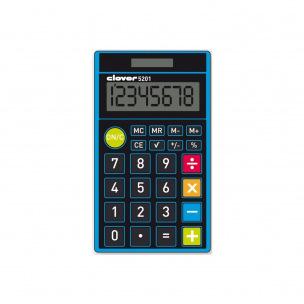 Calculatrice de poche Clover 5201