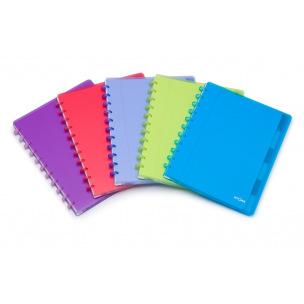 Cahier ATOMA avec intercalaires et pochettes - A4+