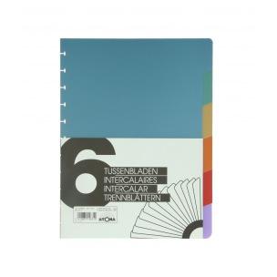Intercalaires pour cahiers à pochettes A4+ ATOMA
