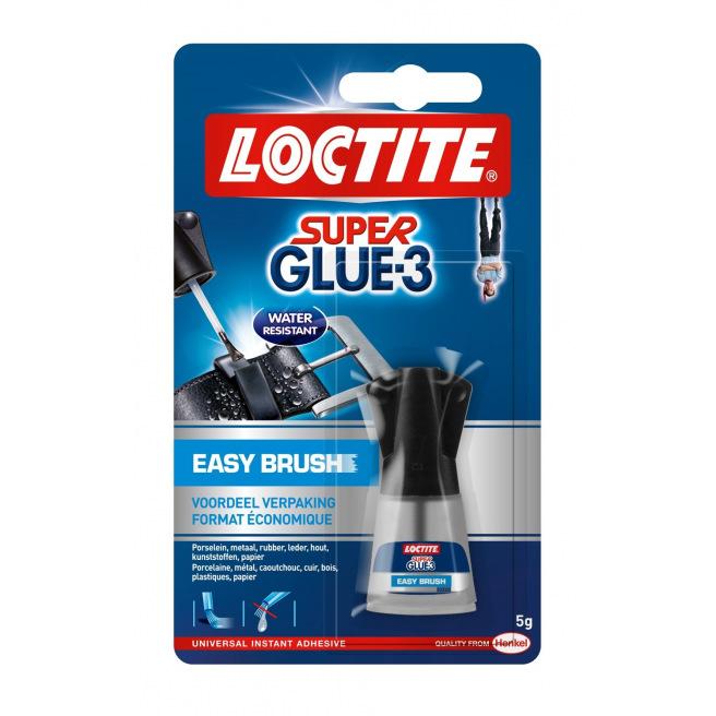 Colle instantanée liquide LOCTITE Super Glue-3 EASY BRUSH