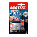 Colle instantanée gel LOCTITE Super Glue-3 POWER FLEX GEL