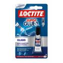 Colle instantanée liquide invisible LOCTITE Super Glue-3 GLASS