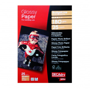 Papier photo brillant DECADRY BudgetLine - A4