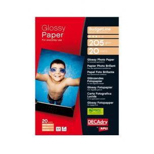 Papier photo brillant DECADRY BudgetLine - A4