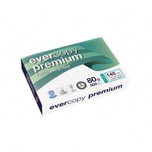 Papier blanc recyclé EVERCOPY PREMIUM A4 - 80 g