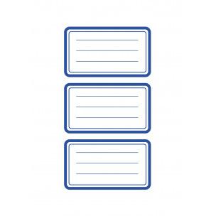 Etiquettes scolaires  AVERY ZWECKFORM - 70 x 37 mm (9 étiq.)
