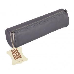 Trousse en cuir CLAIREFONTAINE AGE BAG ronde