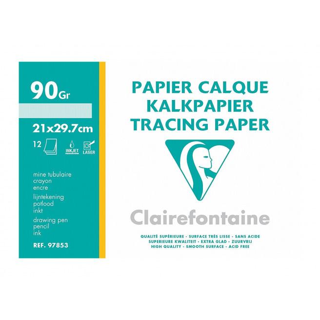 Papier calque 90 g CLAIREFONTAINE