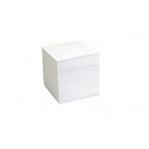 Bloc cube de papier encollé - 9 x 9 cm